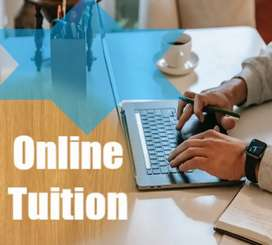 Online tuition from kindergarten to standard 5th and spoken English.