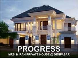 Jasa Arsitek Denpasar Progress Pembangunan Rumah 670m2