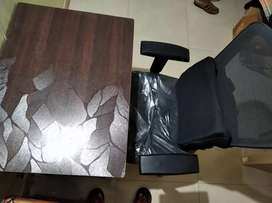 Office Table and Chair for Work from Home Professionals - Negotiable