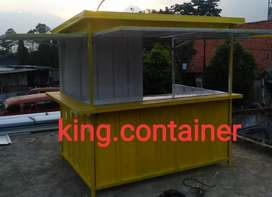 #booth dagang #booth container