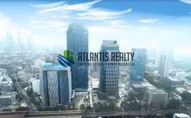 ruang kantor mnc tower, semi furnished