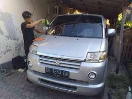 Jual Jasa Pemasangan Kaca Film 3M Mobil Gedung Murah Denpasar Bali