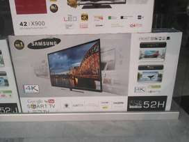 Less 35% 55inch Samsung smart Wifi android 4k box pack rs34500
