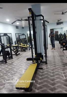 commercial gym setup in good quality