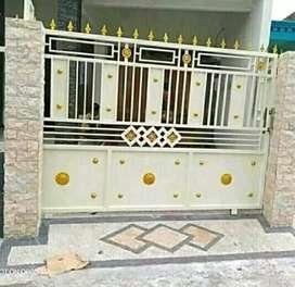 pintu pagar dorong 'kl'