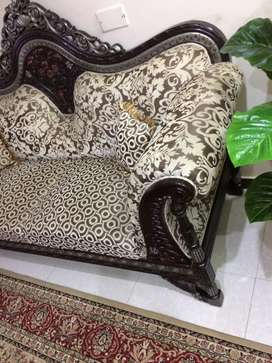 Two pieces large sofa set