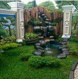 Tukang taman dan kolam