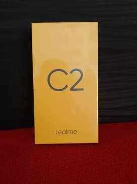Realme C2 Ram 3/32 BNIB/BARU