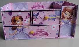 Kotak laci Sophia (kartun) & Flamingo pinkish