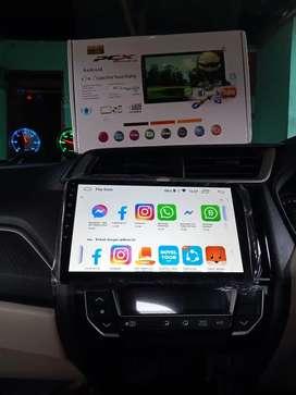 Promo tape layar android 9 inci plus kamera mundur