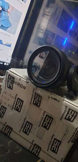 Tamron 28-75mm f2.8 dxiii for sony mount