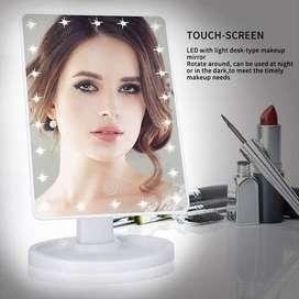 Biutte.co Cermin Makeup Mirror 22 LED Light