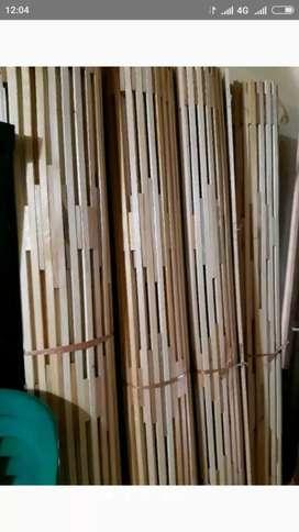 Jual Tirai kayu maranti, lampid dan isi Bambu, Kulit Bambu