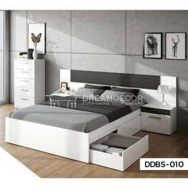 Modern & Simple Bed Sets (King Size Double Bed Set)