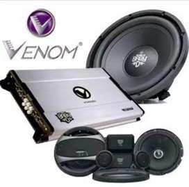 Paket audio Mobil Venom Diablo Baby Split Subwoofer Power