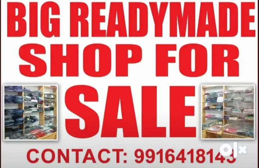 Running shop for sale at very good place