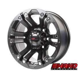 jual velg type hsr wheel JT69 HSR R15X8 H6X139,7 ET0 SMB