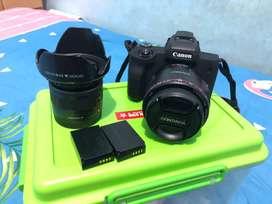 Canon M50 Kit (Tidak Nego Bonus Lensa Fix Yn 1,8 50mm)