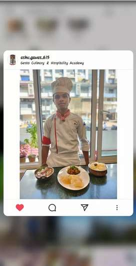 Required experienced Indian/Chinese chef