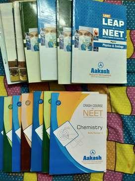 NEET crash course + AIIMS books