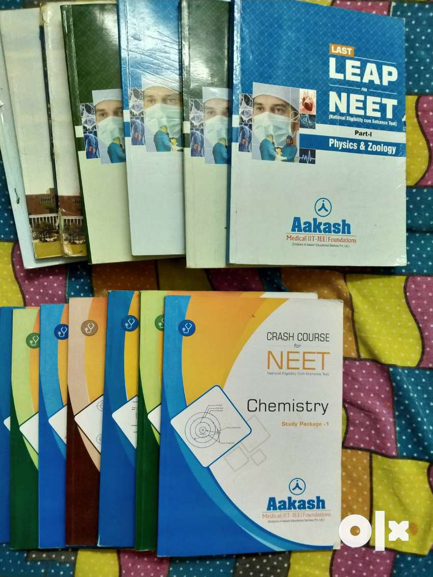 NEET crash course + AIIMS books 0