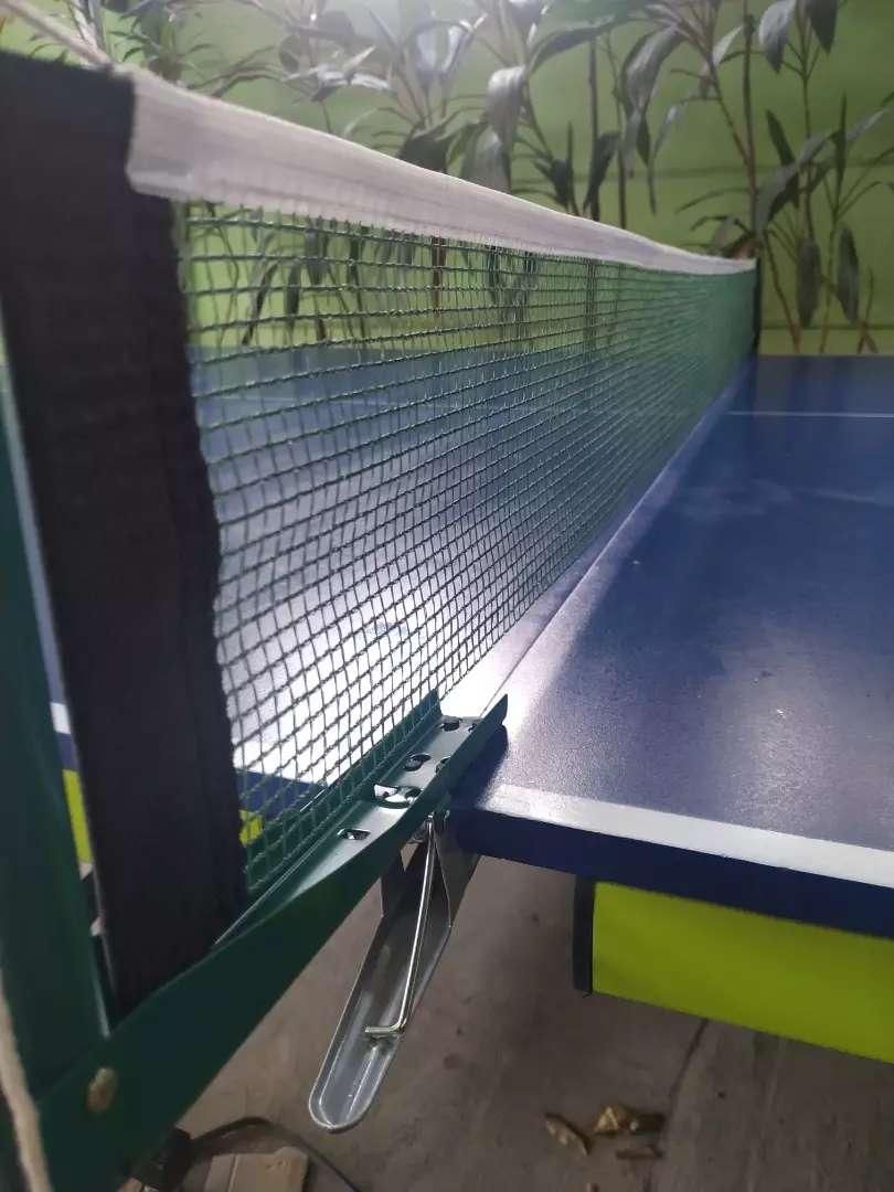Meja pimpong/tenismeja standart nasional Lengkap Free Ongkir
