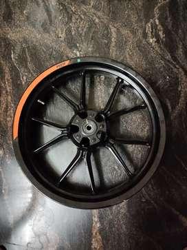KTM DUKE 250 BLACK WHEEL FOR SALE
