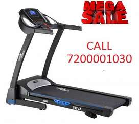 Mega Festival offer on Motorized Treadmill with 120 kg user weight