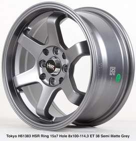 VELG MOBIL TYPE TOKYO H61383 HSR R15X7 H8X100-114,3 ET38 SMG
