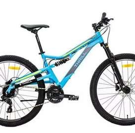 sepeda gunung mtb Thrill Oust 1 hidrolik bukan polygon united pacific
