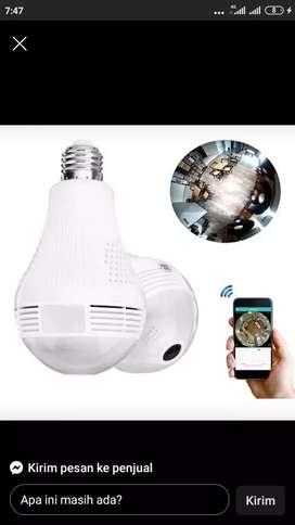 Cctv lampu tanpakabel