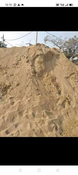 Hole sale sand.. stone chips available here