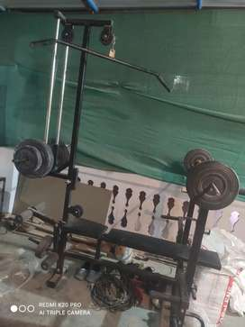 Gym set sale very urgent h