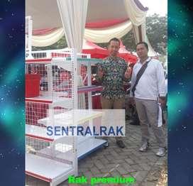 Rak gondola murah acara pameran minimarket langsung pabrik sentralrak