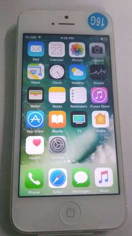 Iphone 5 16gb exceptional
