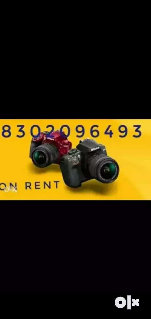 CAMERA AVAILABLE ON RENt 0