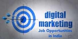 Hiring good person for digital marketing.