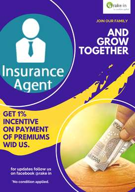 Get 1% incentive on payment of premiums  wid us.
