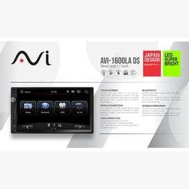 AVI HeadUnit Deckless Double Din Universal Mobil Mirrorlink ke Android