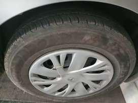 Swift vxi new tyresfully insured 190000 is insured value till dec2020