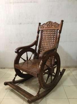 Sagi Wooden Rest Chair