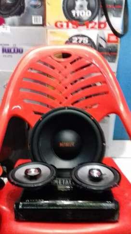 Paket audio -M-E-T-A-L-IK - free pasang rapih