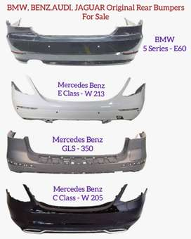 BMW, BENZ, AUDI, JAGUAR | ORIGINAL REAR BUMPER | AVAILABLE FOR SALE |