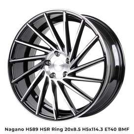 Dagang model velg -NAGANO H589 HSR R20 Mazda6, CX3, CX5,