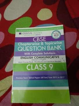 CBSE 9th (English) Question Bank