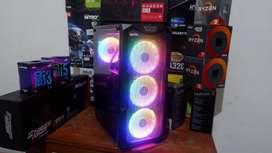PC Komputer i7 Coffelake Feat GTX 1050Ti 4GB Render ,Streaming,Editing