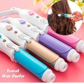 Catokan rambut curler mini