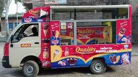 Tata Ace chota hathi with ice cream parlor