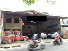 Dijual Bangunan Bekas Bengkel di Jl Raya Lamper Tengah