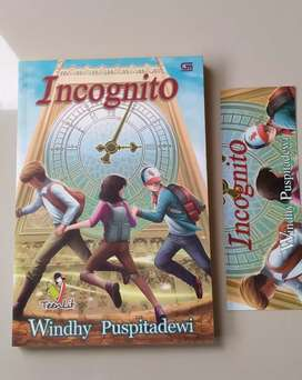 Novel Teenlit Preloved : Incognito by Windhy P
